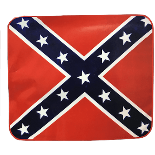 Confederate Flag Faux Fur Luxury Blanket