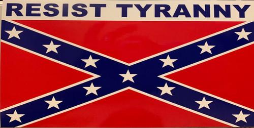 Resist Tyranny Sticker