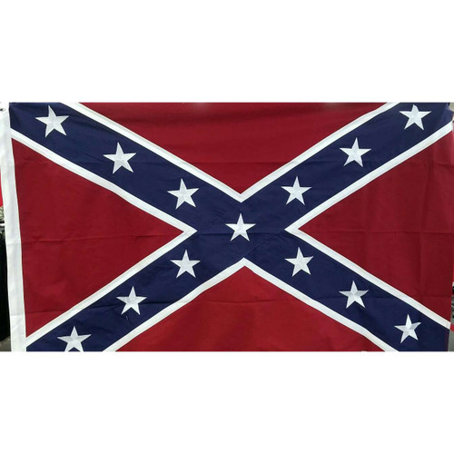 300 Denier Stitched embroidered  Confederate Flag