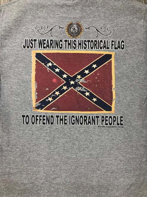 Historical Flag..... To Offend The Ignorant People (T-Shirt)