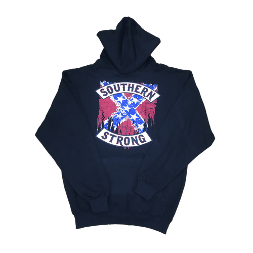 Southern Strong Confederate Flag Hooded Sweatshirt