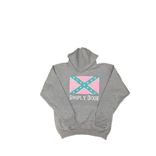 Simply Dixie Confederate Flag Hooded Sweatshirt