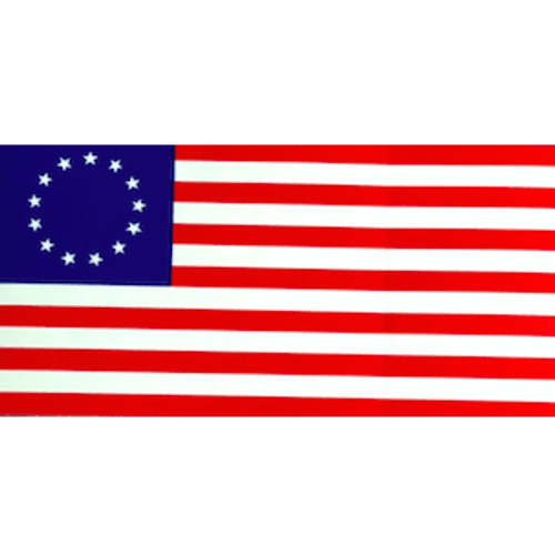 Betsy Ross 13 Star USA American Flag Sticker