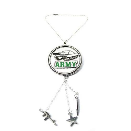 Army Car Charm