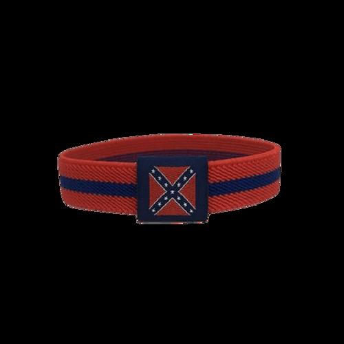 Confederate Flag Stretch Bracelet