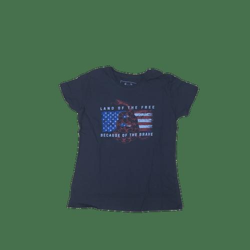 Land Of The Free Gadsden American Flag T-Shirt
