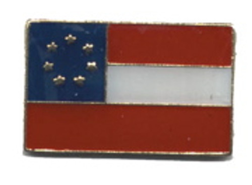 First Confederate flag Lapel Pin