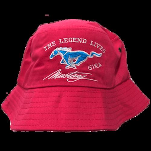 Mustang Girl Bucket Hat