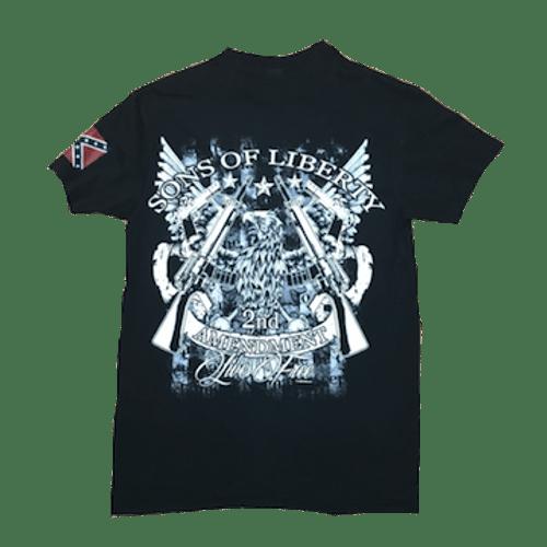 Dixie Son's Of Liberty 2nd Amendment T-Shirt