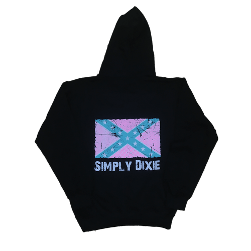 Simply Dixie Preppy Confederate Flag Sweatshirt
