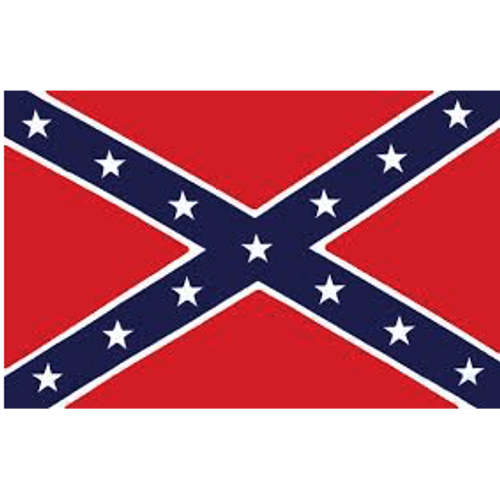 *Made In America* 3'x5' Polyester Confederate Flag
