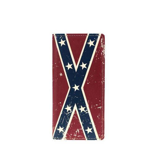 Vintage Confederate Flag Billfold