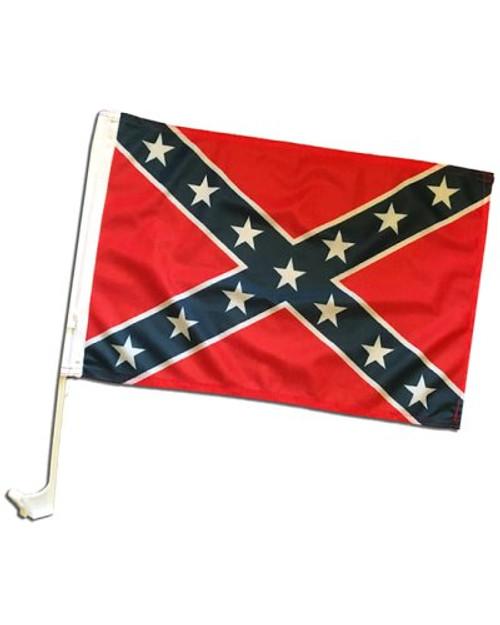 """11""""x17"""" Confederate Car Flag"""