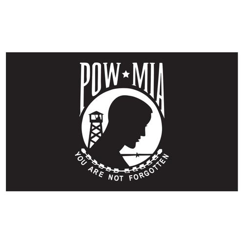 POW*MIA Lightweight Polyester Flag