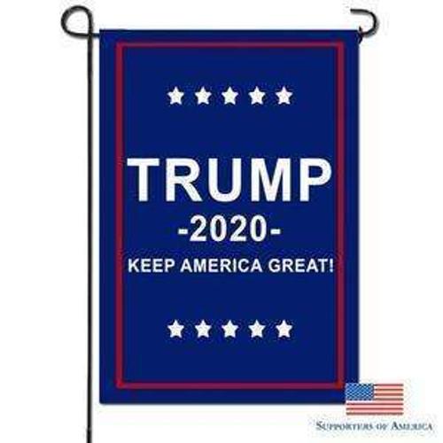 """18""""x12"""" Trump 2020 garden flag"""