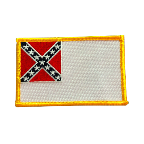 2nd Official Confederate Flag Patch