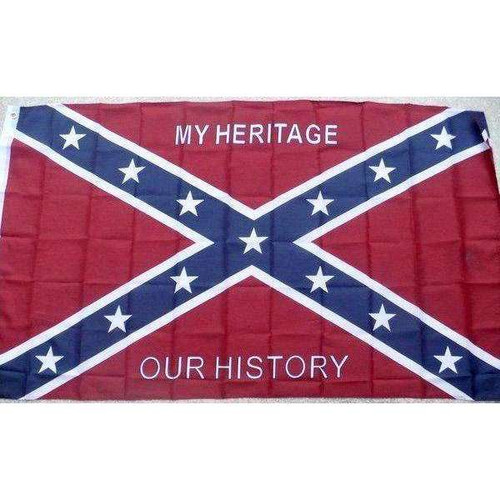 """My Heritage, Our History"" Confederate Flag"