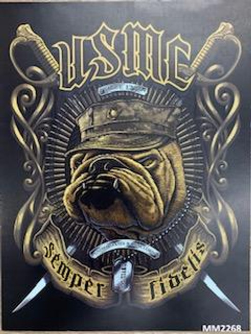 U.S Marines Bull Dog T-Shirt