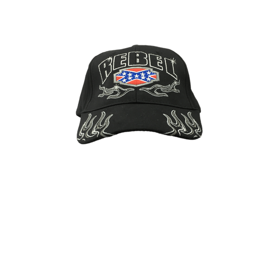 """Rebel"" Confederate Flag Hat"