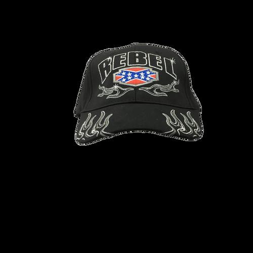 """Rebel"" Confederate Flag Hat"