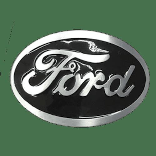 Black Ford Belt Buckle
