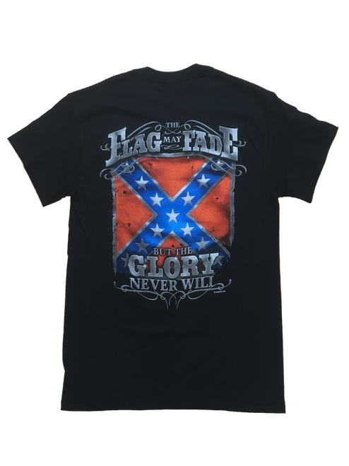 The Flag May Fade But The Glory Never Will T-shirt