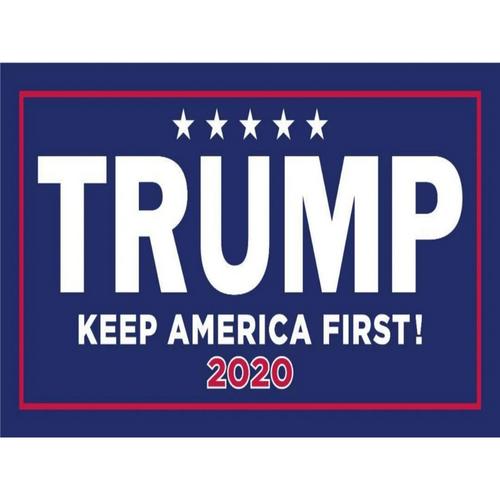 Trump keep America First 2020 Bumper Sticker