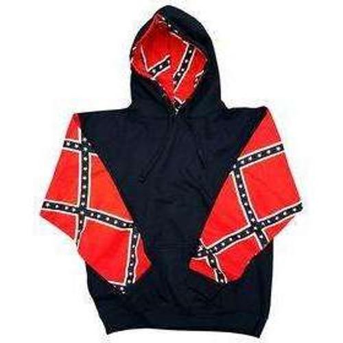 Confederate flag rebel Hoodie