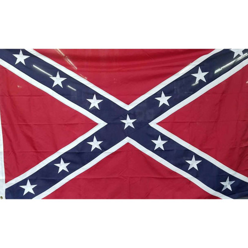 5' x 8' Embroidered Large Confederate Flag
