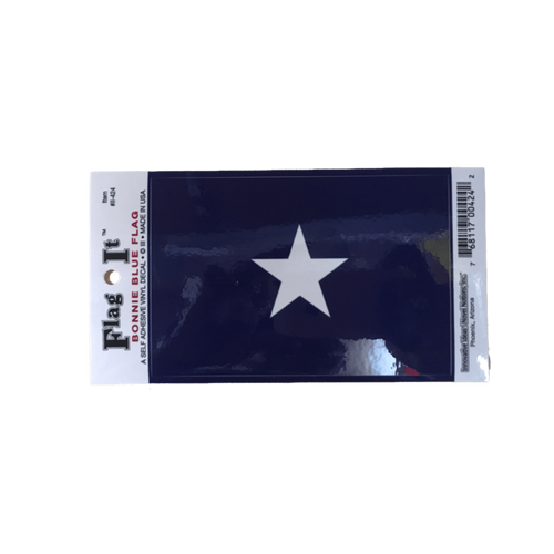 Bonnie Blue Flag Sticker (Small)