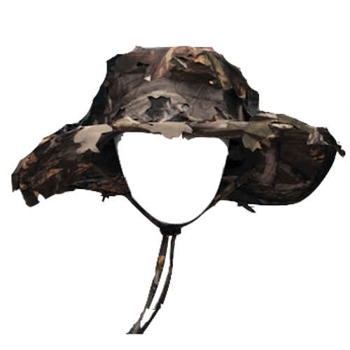 3D Camo Bucket Hat
