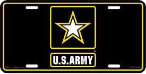 U.S Army Logo License Plate