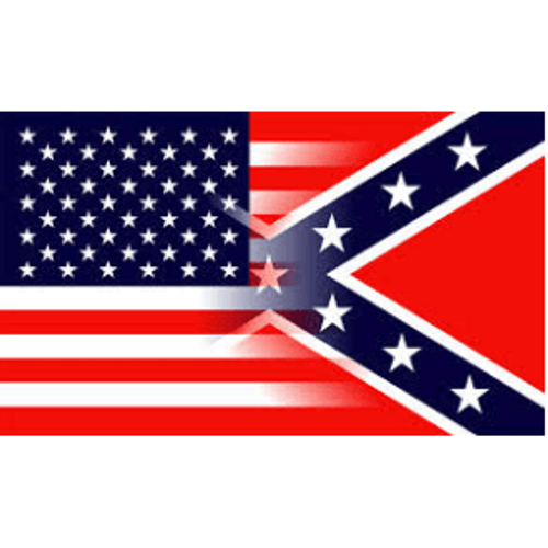 3' x 5' -American Transition to Confederate Flag