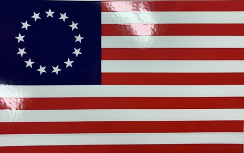 Betsy Ross Flag Stickers (Small)