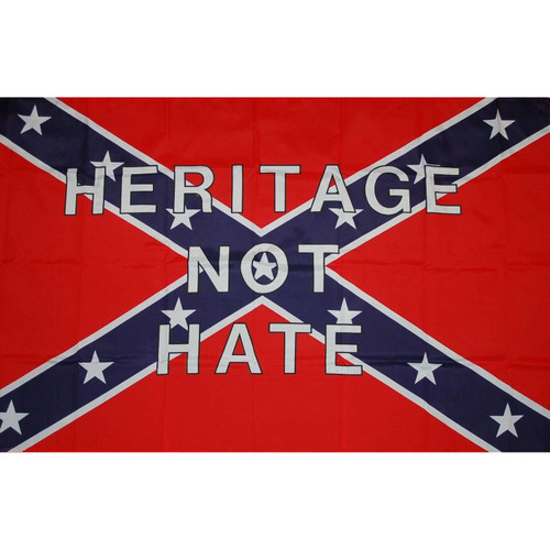 "Confederate ""Heritage Not Hate"" Flag"