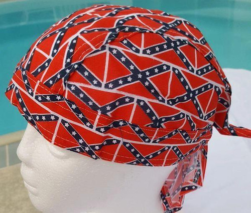 All Over Confederate Flag Head Wrap