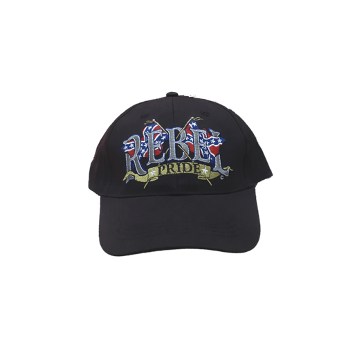 """Rebel Pride"" Confederate Hat"