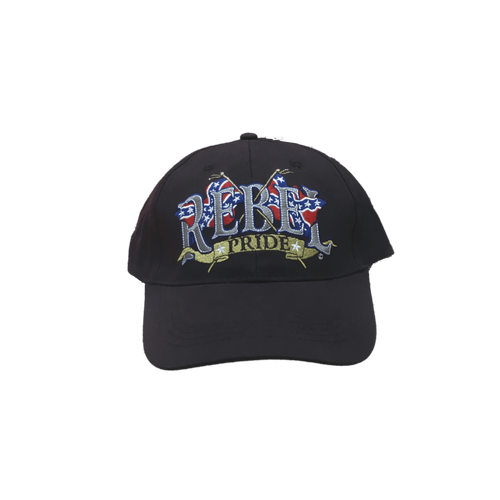 """Rebel Pride"" Confederate Hat"