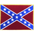 Confederate Flag Iron-On Patch (Large)
