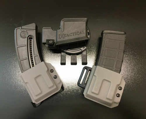 JX Tactical AR15 magazine pouches and the JX Tactical AR15 rifle holster