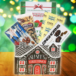 """Season's Greetings"" Snack Basket"