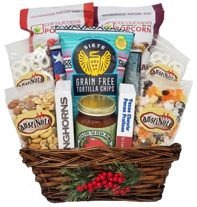 """Clarksville"" Christmas Basket"