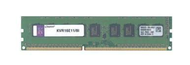Kingston KVR16E11//8I 8GB DDR3 1600 PC3 12800 ECC DIMM For Desktops and Servers