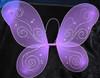 Lavender butterfly wings