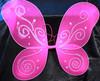 Hot pink butterfly wings