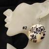 Wholesale butterfly shell earrings