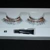 #9 Silver tinsel eyelashes