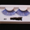 #23 Blue Fake eyelashes