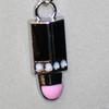 Wholesale girls lipstick necklace