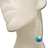Aqua marble earrings